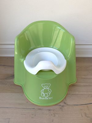 BABYBJORN Potty Chair (Green) for potty training for Sale in Irvine, CA