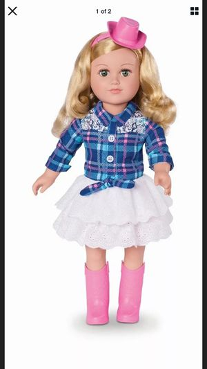 """Large 18"""" doll my life as a cowgirl doll new in box for Sale in Bridgeton, MO"""