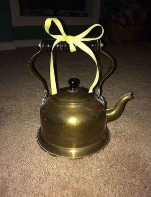 Vintage Collectible Brass Tea Kettle / Tea Pot for Sale in Chantilly, VA