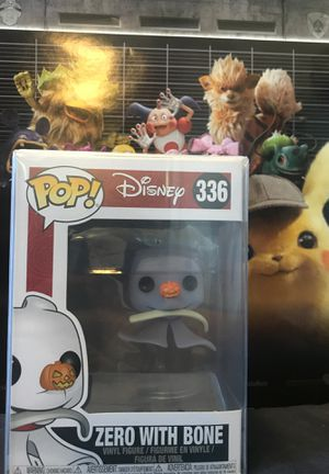 Funko POP! Disney #336 - Zero With Bone (The Nightmare Before Christmas) for Sale in San Diego, CA