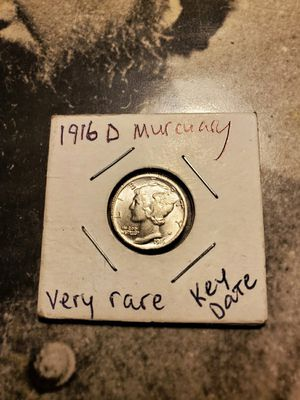 1916 D Mercury dime 1916 regular Mercury dime in other key dates collection for Sale in Sebring, FL