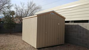 New 8x10 storage shed installed on site in one day $1325 for Sale in Henderson, NV