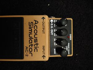 Boss AC-2 acoustic simulator pedal for Sale in Long Beach, CA