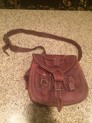 Heavy duty leather bag/purse for Sale in Puyallup, WA