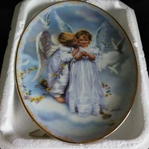 Angel Kisses Plate for Sale in Eagle Lake, FL