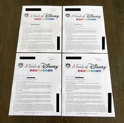 Touch Of Disney 4 Tickets Friday April 9 2021 for Sale in Chino Hills,  CA