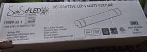 Decorative led vanity fixture for Sale in Moreno Valley, CA