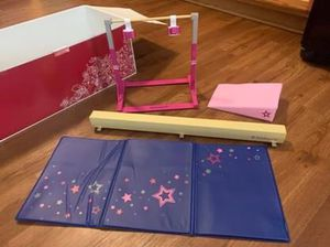 American girl doll gymnastic set for Sale in Sanford, NC