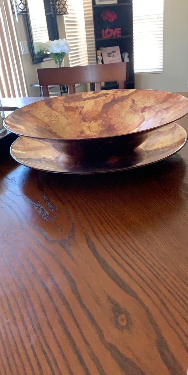 Large Glass decorative plates