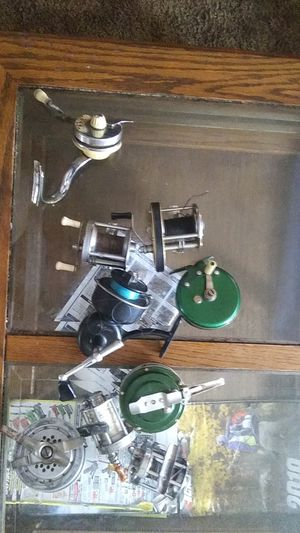 9 Antique fishing reels for Sale in Maud, OK