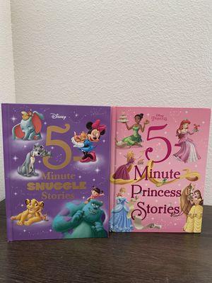 Disney Disney princess 5 minute snuggle stories books for Sale in San Antonio, TX