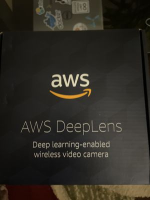 AWS Deep Lens for Machine Learning for Sale in Schaumburg, IL