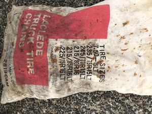 Vintage Laclede truck tire chains for Sale in Puyallup, WA