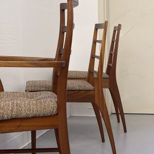 Recently Imported Vintage Danish Modern Chairs Set Of 4 Seattle for Sale in Seattle, WA