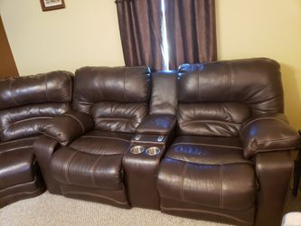 Leather Sectional for Sale in Martelle,  IA
