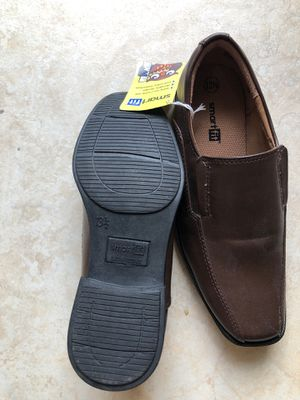 Brown kids shoes for Sale in Palm Beach Gardens, FL