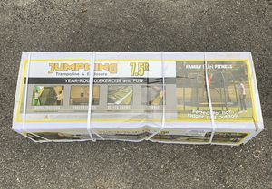 New 7.5 Foot JumpKing Trampoline With Enclosure for Sale in Millis, MA