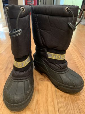 Kids Sorel Snow Boots size 13 for Sale in Lakewood, CO
