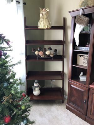 Solid wood ladder shelves - Havertys for Sale in Virginia Beach, VA
