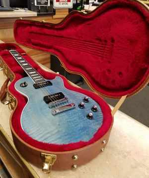 GIBSON LES PAUL 2018 SATIN BLUE GUITAR for Sale in Canoga Park, CA