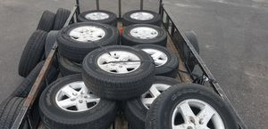Jeep rims and tires for Sale in Hudson, FL