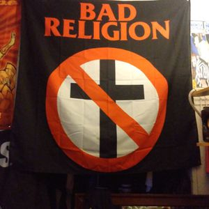 Bad Religion Huge Flag (Cloth) RARE! for Sale in Corpus Christi, TX