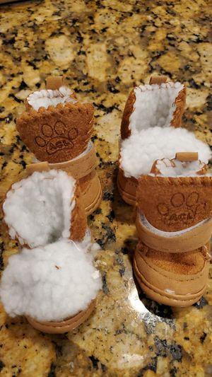 ACL Size 2 fluffy dog boots for Sale in Lutz, FL