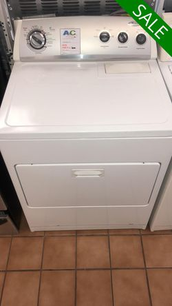 NO CREDIT!! Whirlpool White Electric Dryer CONTACT TODAY! #1528 for Sale in Fort Washington,  MD