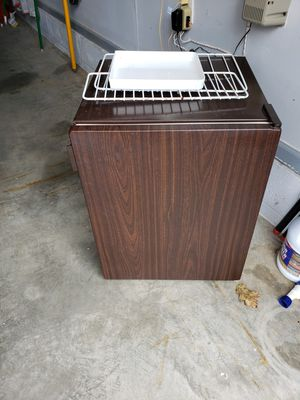 Refrigerator-dorm size refrigerator with freezer. Runs great! Kids out of dorms! for Sale in Neffsville, PA