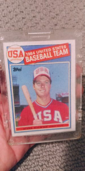 Mark McGwire Baseball Card for Sale in Cottonwood Heights, UT