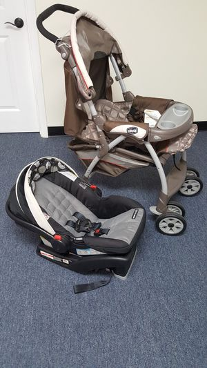 Stroller with click on car seat opportunity for Sale in La Mirada, CA