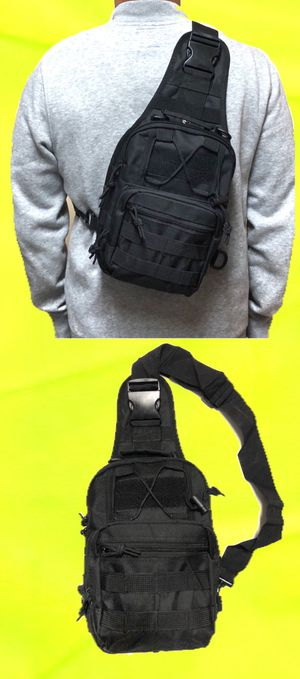 NEW! Tactical military style Side Bag Cross body bag backpack sling pouch chest bag camping hiking day pack shoulder bag for Sale in Carson, CA
