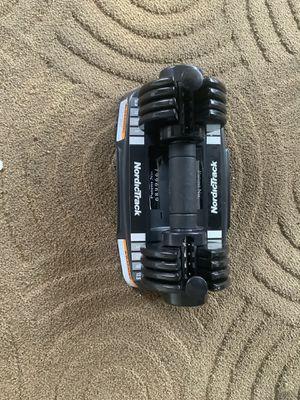 NordicTrack SpeedWeight Adjustable Dumbbell for Sale in Sacramento, CA
