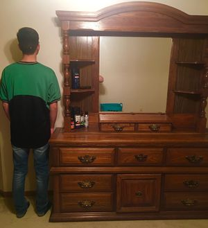 Dresser with mirror and Chest Dresser. for Sale in Ripon, WI
