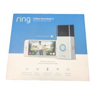 Ring Video Doorbell 2 Wire-Free HD Video Doorbell Refurbished for Sale in Missouri City, TX