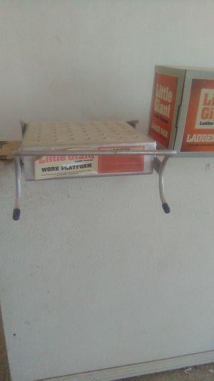 Little giant ladder rack and work platform for Sale in Phoenix, AZ