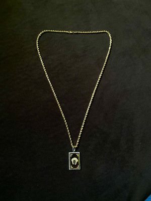 10K rope chain with matching pendant for Sale in Columbia, MD