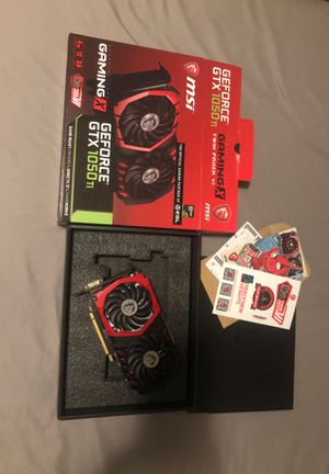 MSI GeForce GTX 1050 ti 4gb for Sale in South Elgin, IL