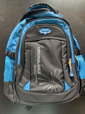 Laptop backpack blue and black for Sale in Yucaipa, CA