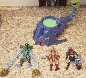 Mattel Masters Universe MOTU 200x Snakemen Figure Lot Skeletor He-Man Mekanek for Sale in Aurora, CO