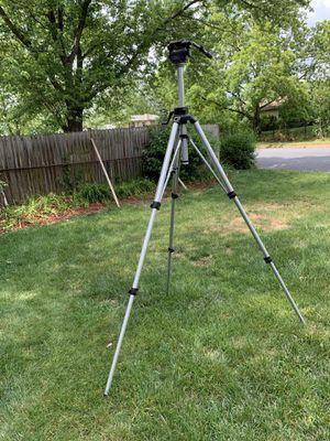 Manfrotto professional camera tripod for Sale in Herndon, VA
