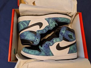 Brand New Nike Air Jordan 1 Tie Dye Size W7 from SNKRs for Sale in Glenview, IL