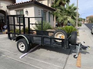 Trailer utility hauler GREAT condition with title! for Sale in Las Vegas, NV