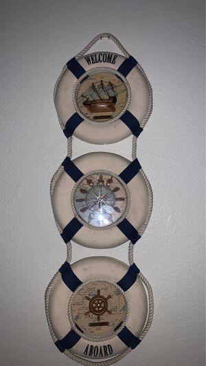 Wall hanging clocks . for Sale in Everett, WA