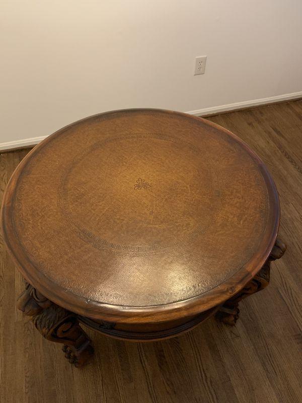 Round drum Table