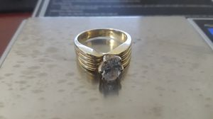 14k Gold Ring with Cubic Zirconia for Sale in Hialeah, FL