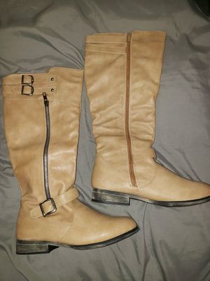 Women's Mid-Calf Boots (Tan) for Sale in Columbus, OH