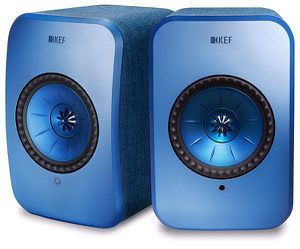KEF LSX SPEAKERS, STAND, and KUBE 8 for Sale in Houston, TX
