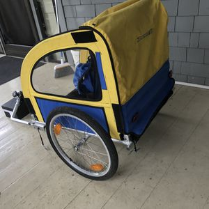 Tandem bike trailer, used but in decent condition. for Sale in Portland, OR