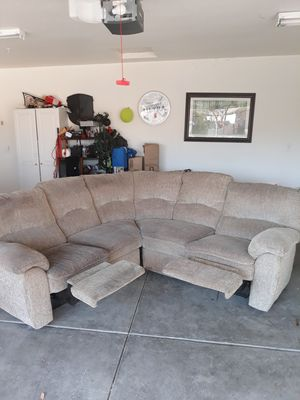 Two-piece sectional couch for Sale in Tracy, CA